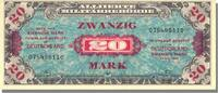 Germany 20 Mark 1944 unz Foreign Banknoten 20 Mark Type Allys (without F... 100,00 EUR