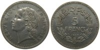 Moderns (1900-1958) 5 Francs 1937 ss+ French Moderns Frankreich IIIrd Re... 190,00 EUR