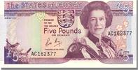 Jersey 5 Pounds  unz 5 Pounds Type 1989 60,00 EUR