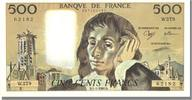 500 Francs 1988 Frankreich  UNC(60-62)  95,00 EUR