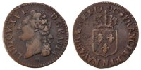 French Royal 1/2 Sol 1790 Montpellier ss Royal French coins Frankreich K... 90,00 EUR