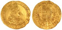Belgium Double Souverain d'or Foreign Coins Mnzen Belgium, Manorialism of Tournai, Philippe IV of Spain, Double Sovereign Golden