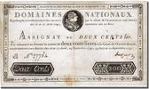 200 Livres 1791 Frankreich  EF(40-45)  500,00 EUR