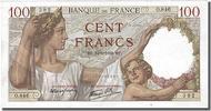 100 Francs 1939 France  AU(55-58)  80,00 EUR  +  10,00 EUR shipping