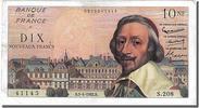 10 Nouveaux Francs 1962 FRANCE  AU(50-53)  57.90 US$ 55,00 EUR  +  10.53 US$ shipping
