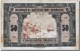 50 Francs 1943 Morocco  AU(50-53)  147.38 US$ 140,00 EUR  +  10.53 US$ shipping