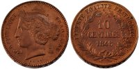 10 Centimes 1848 France  MS(60-62)  534.44 US$ 500,00 EUR  +  10.69 US$ shipping