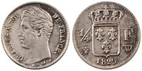 Semi Moderns (1805-1899) 1/4 Franc 1829 Lille unz- French Moderns Frankr... 130,00 EUR
