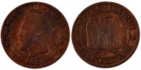 Semi Moderns (1805-1899) 2 Centimes 1853 Lille ss French Moderns Frankre... 150,00 EUR