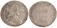 1/2 Ecu 1652 I France 1/2 Écu à la mèche longue Louis XIV EF(40-45)  247,00 EUR free shipping