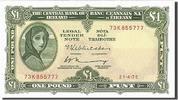 1 Pound 1975 Ireland - Republic  UNC(63)  90,00 EUR  zzgl. 10,00 EUR Versand