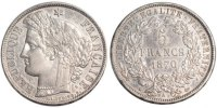Semi Moderns (1805-1899) 5 Francs 1870 Paris ss+ French Moderns Frankrei... 230,00 EUR