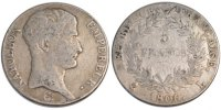 5 Francs 1806 L France Napoléon I VF(20-25)  279.81 US$ 250,00 EUR  +  11.19 US$ shipping