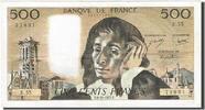 500 Francs 1968 Frankreich  AU(50-53)  60,00 EUR  +  10,00 EUR shipping