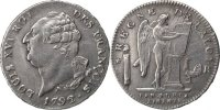 French Revolution (1789-1804) Ecu 1792 Orléans ss+ French Revolution Fra... 856.95 US$