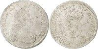 1/2 ECU, 43 Sols 1702 C France 1/2 Écu aux insignes Louis XIV 1643-1715... 160,00 EUR free shipping