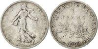 Franc 1903 France Semeuse VF(30-35)  17994 руб 250,00 EUR  +  720 руб shipping
