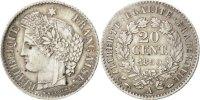 20 Centimes 1850 A France Cérès AU(55-58)  80,00 EUR  + 6,00 EUR frais d'envoi