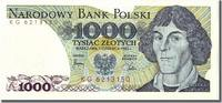 Poland 1000 Zlotych Foreign Banknoten Poland, 1000 Zlotych type Kopernik