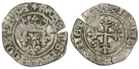 Gros Tours France 1380-1422 Charles VI le Fol VF(20-25)  60,00 EUR  + 6,00 EUR frais d'envoi