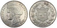 5 Francs 1892 B Switzerland  AU(50-53)  21685 руб 290,00 EUR  +  748 руб shipping