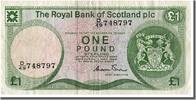 Scotland 1 Pound Foreign Banknoten Scotland, 1 Livre type 1972