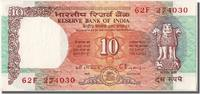 India 10 Rupees Foreign Banknoten India, 10 Rupees type 1992