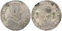 Teston 1552 Paris France 1515-1547 François Ier VF(30-35)  24946 руб 390,00 EUR  +  640 руб shipping