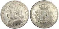 5 Francs 1814 L France Louis XVIII Louis XVIII AU(50-53)  280,00 EUR envoi gratuit