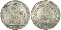 Colonial 20 Cent 1922 Paris AU+ Indochine, 20 Cent, 1922 A 60,00 EUR