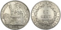 Colonial 50 Cent 1936 AU+ Indochine, 50 Cent, 1936 150,00 EUR