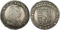 Feudal and provincials Demi Teston 1665 Nancy VF French Feudale Münzen M... 350,00 EUR
