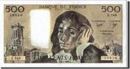 500 Francs 1986 Frankreich  AU(55-58)  60,00 EUR  zzgl. 10,00 EUR Versand