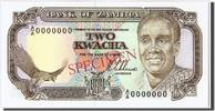 2 Kwacha  Zambia  UNC(65-70)  130,00 EUR  + 6,00 EUR frais d'envoi