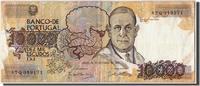 10,000 Escudos 1989 Portugal  EF(40-45)  180,00 EUR envoi gratuit