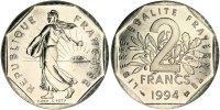 2 Francs 1994 France Semeuse MS(65-70)  80,00 EUR  +  10,00 EUR shipping