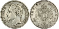 Semi Moderns (1805-1899) 2 Francs 1866 Bordeaux ss+ French Moderns Frank... 320,00 EUR