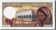 500 Francs  Comoros  UNC(65-70)  76.05 US$ 70,00 EUR  +  10.86 US$ shipping