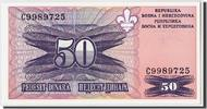 50 Dinara Undated (1995) Bosnia - Herzegovina  UNC(65-70)  40,00 EUR  zzgl. 10,00 EUR Versand