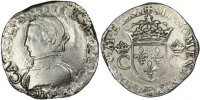 French Royal Teston 1562 Bordeaux s Royal French coins Frankreich Königr... 150,00 EUR
