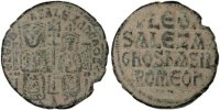 Follis Constantinople  Leo VI the Wise 886-912 EF(40-45)  180,00 EUR free shipping