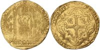 French Royal Franc à pied Royal French coins Frankreich Königreichr Charles V, Franc à pied Golden