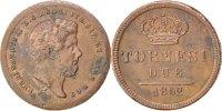 2 Tornesi 1852 ITALIAN STATES Ferdinando II AU(50-53)  70,00 EUR  +  10,00 EUR shipping