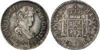 1/2 Réal 1814 NG Guatemala Ferdinand VII AU(55-58)  200,00 EUR free shipping