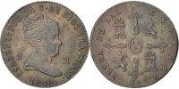 8 Maravedis 1848 Jubia Spanien Isabel II AU(55-58)  150,00 EUR