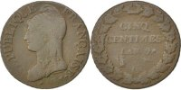 5 Centimes 1800 G France Dupré VF(20-25)  130,00 EUR  +  10,00 EUR shipping