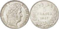 5 Francs 1847 BB France Louis-Philippe AU(55-58)  22433 руб 300,00 EUR  +  748 руб shipping