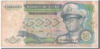 5000 Zaïres 1988 Zaïre  EF(40-45)  60,00 EUR  + 6,00 EUR frais d'envoi