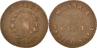 10 Centimes 1814 Anvers FRENCH STATES  VF(20-25)  90,00 EUR  +  10,00 EUR shipping