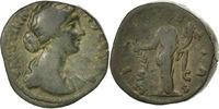 Dupondius Rome  Faustina II VF(30-35)  140,00 EUR  zzgl. 10,00 EUR Versand